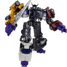 Transformers News: Clear Images for Takara Tomy Unite Warriors Menasor