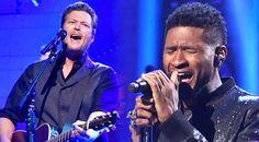 Country Music Lyrics - Quotes - Songs Usher - Blake Shelton