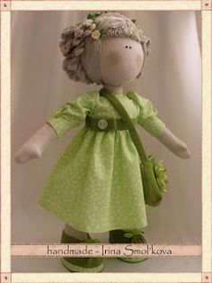 Cute rag doll pattern