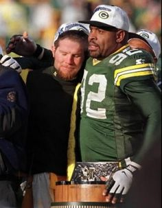 brett favre and reggie white