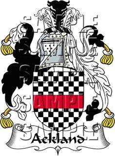 Ackland Family Crest Apparel