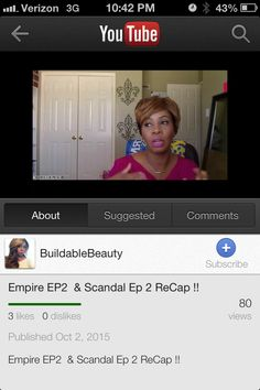 Empire and Scandal recap #youtuber