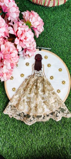 Chain Headpiece, Wedding Crafts, Tree Skirts, Hoop, Christmas Tree, Ring, Holiday Decor, Canvas, Home Decor