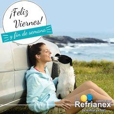 ¡Feliz VIERNES! Ten un maravilloso fin de semana.  #Refrianex #SaludyBienestarBagó