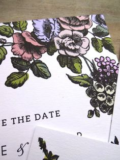 RUSTIC SAVE the DATE Invitation 5x7 350gsm by SweetPeaSunday