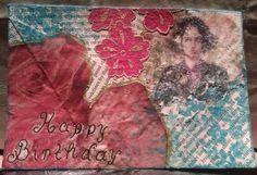 Art swap - Birthday postcards Birthday Postcards, Alexander Mcqueen Scarf, Crafts, Art, Fashion, Art Background, Moda, Manualidades, Fashion Styles
