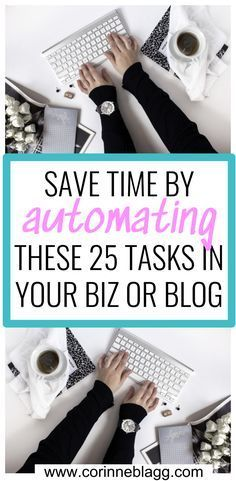 save time automating these 25 tasks in your biz or blog