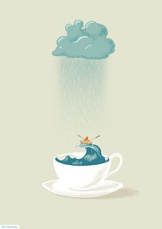 Storm in a teacup by Filipe Alcada