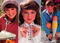 Maybelline, Young Miss magazine, October 80s Fashion, Fashion Beauty, Vintage Fashion, Deborah Foreman, Makeup Ads, Beauty Ad, Valley Girls, Chick Flicks, Great Friends
