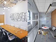 decoración oficinas modernas salas de reunión