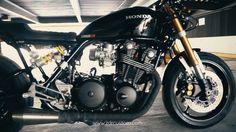 HONDA CB 900 CAFE RACER by ZDR CUSTOM on Vimeo