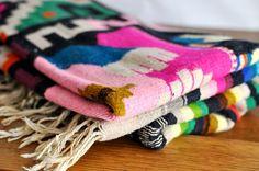 Vintage Mexican Blanket by estatehound on Etsy