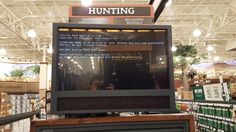 Cabelas display is hunting for boot media #bsod #pbsod