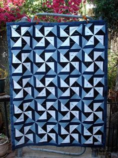 Recycled Material Can Turn Into The Most Beautiful Quilts! - 24 Blocks