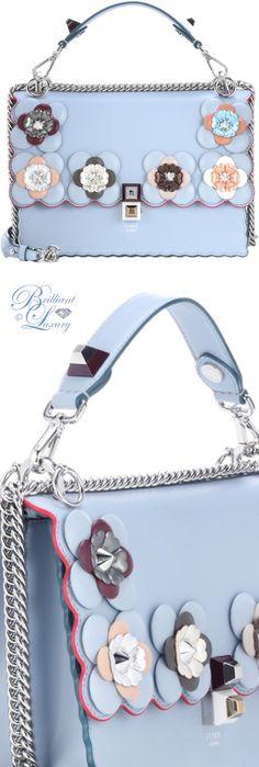 Brilliant Luxury ♦ Fendi Kan I leather shoulder bag