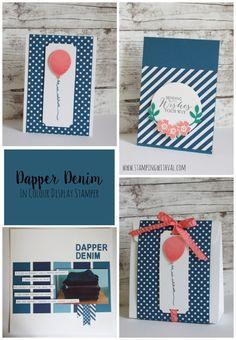 New Stampin' Up! In Colour Week – Dapper Denim!