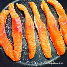 Ruokapankki: Lohi-wasabisalaatti