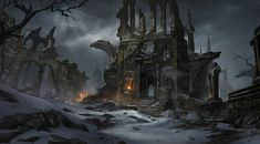 ArtStation - old church, weijie zhu