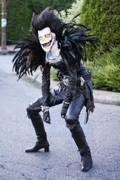 Death Note, Ryuk check out more great #Cosplay & #halloween #costumes