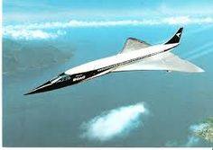 Concorde: Painted in B.O.A.C. Livery ~ The Precursor to British Airways.