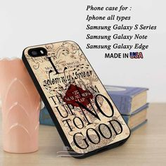 iPhone SE Case Harry Potter Map Vintage Quotes Collage Art Samsung S7... ❤ liked on Polyvore featuring accessories, tech accessories and samsung