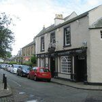 The oldest pub of Scotland in Duddingston Village