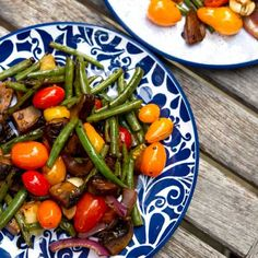 Grilled vegetables with balsamic vinegar, olive oil & spices recipe for Get Grillin' summer barbeque event with Family Fresh Cooking & Cookin' Canuck.