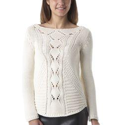 Pull en tricot - Ecru - Pulls et gilets - Femme - Promod