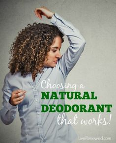 We know we should be avoiding the toxic chemicals found in conventional deodorants. Learn which ingredients to avoid and how to choose a more natural deodorant that really works! Beauty Makeup Tips, Diy Beauty, Beauty Hacks, Makeup Tricks, Beauty Ideas, Natural Deodorant That Works, Going Natural, Natural Health Remedies, Homemade Beauty Products