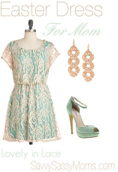 Easter Dress for Mom #FashionFriday | Savvy Sassy Moms