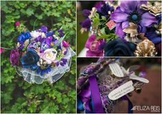 Great idea to personalize your flowers. #uniqueweddingideas #outdoorweddingvenues #weddingvenues #njbride #weddingsinnj #diybride #diywedding #uniquevenue