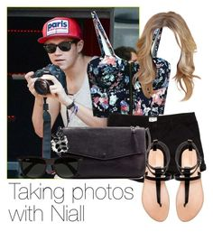 """Taking photos with Niall"" by style-with-one-direction ❤ liked on Polyvore featuring RVCA, Zara, Ray-Ban, women's clothing, women's fashion, women, female, woman, misses and juniors"