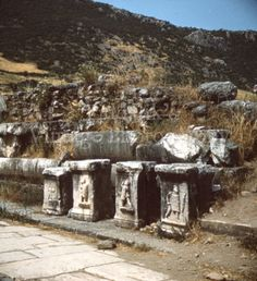 2X-Ephesus-Marbles-Greek-Greece-Stereo-Realist-Stereoview-3D-Slides