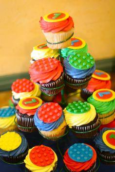 @KatieSheaDesign ♡♡ #Cupcakes ♡♡ #lego cupcake tower