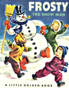Frosty the Snowman and children