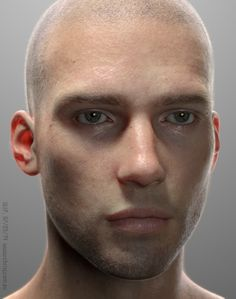 """Ed"" is a hyper-realistic CGI model of a man created by artist Chris Jones that was built with Lightwave, Sculptris, and Krita software and composited with DaVinci Resolve Lite. Jones is keeping tr..."