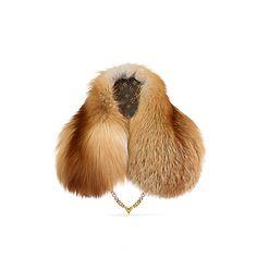 Écharpe en fourrure de renard V Chain Femme Accessoires Écharpes et  foulards   LOUIS VUITTON 8c5f0fd24fa4