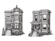 Cape Horn Illustration Custom Drawings   Chicago - DailyCandy