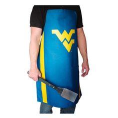 Grill Topper NCAA Jersey Apron NCAA Team: West Virginia University Mountaineers