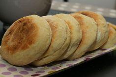 recette de muffins anglais!