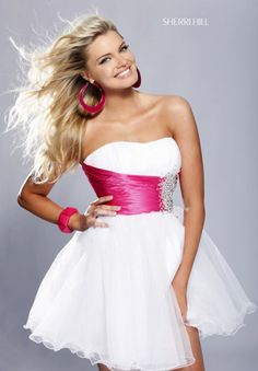 Sherri Hill Short 1002 at Prom Dress Shop