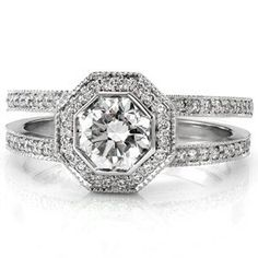 Design 1548 - Knox Jewelers - Minneapolis Minnesota - Split Shank Engagement Rings - Large Image