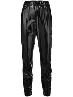 Check out MSGM with over 1 items in stock. Shop MSGM PVC track pants today with fast Australia delivery and free returns. Wearing All Black, All Black Outfit, Big Fashion, Fashion Tips, Fashion Design, Uniform Wares, Pret, Msgm, Back To Black