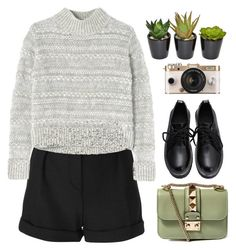 """""""Green star"""" by edita-m ❤ liked on Polyvore featuring IRO, Rebecca Taylor, Urban Outfitters, Valentino, women's clothing, women, female, woman, misses and juniors"""