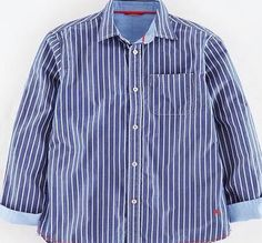 Johnnie  b Laundered Shirt Reef Stripe Johnnie b, Reef The Laundered Shirt offers a low-key tailored style thats a bit soft around the edges - with chambray lined neckline, placket and cuffs. Layer over t-shirts for a casual cover up. http://www.comparestoreprices.co.uk/kids-clothes--boys/johnnie-b-laundered-shirt-reef-stripe-johnnie-b-reef.asp