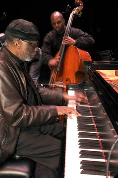 Ahmad Jamal with Christian McBride.