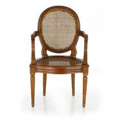 Louis XVI cane chair - Monceau. Louis XVI cane chair ...
