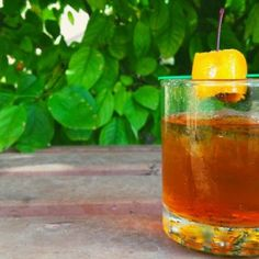 Classic Rye Old Fashioned Cocktail. There's a reason it's a classic.