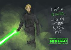 #Ninjago : Star Wars - lloyd