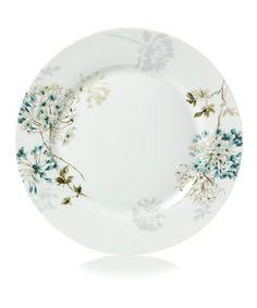 Look at this #zulilyfind! Teal Silk Floral Dinner Plate by Mikasa #zulilyfinds